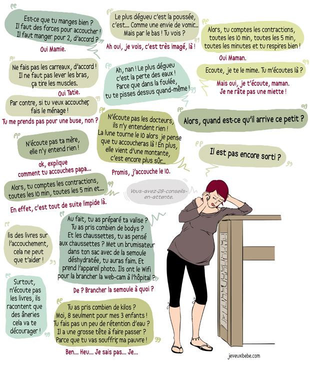 Vous avez 28 conseils en attente.Conseils grossesse