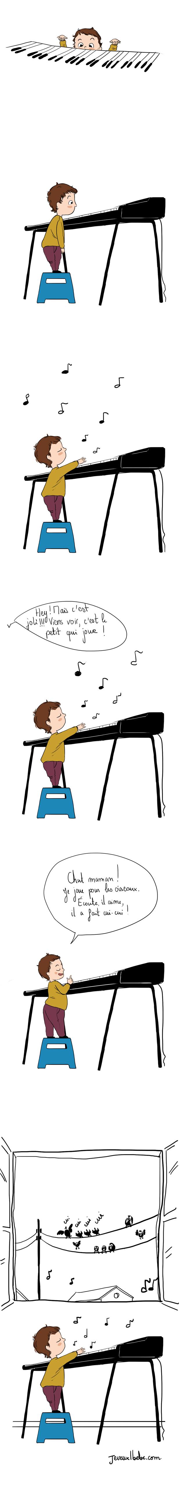 enfance,Little Bach,BD bébé