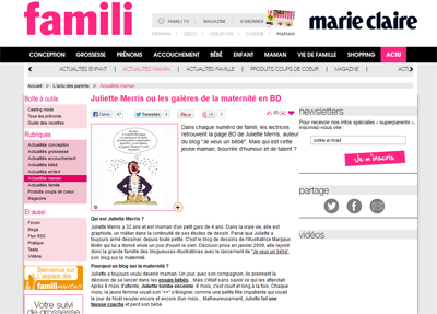 Famili interview juliette Merris