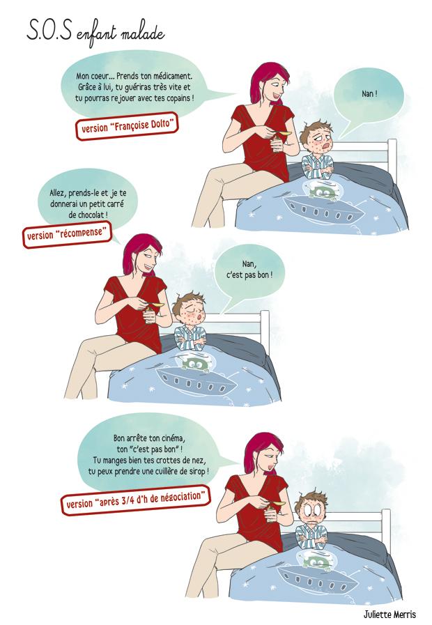 Famili SOS enfant malade